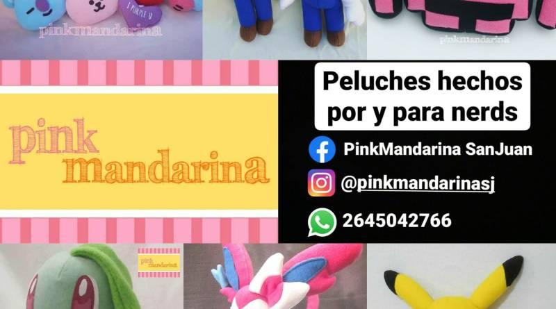 Pink Mandarina   peluches artesanales