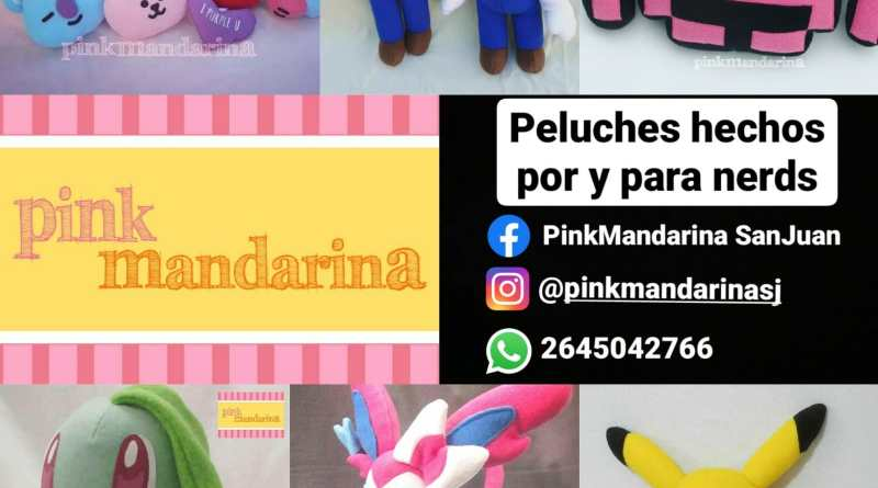 Pink Mandarina | peluches artesanales