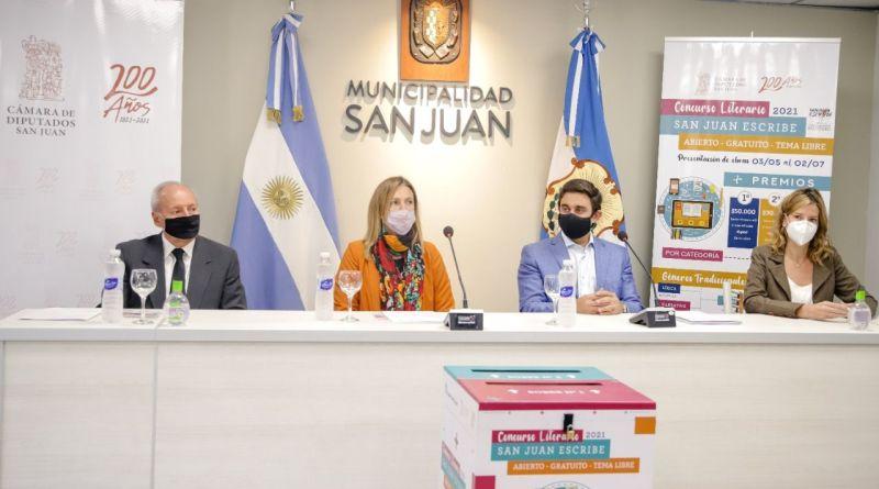 San Juan Escribe en Capital: Premios de hasta $50.000 - Sandra Barceló