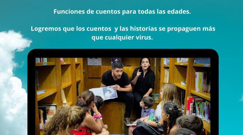 Cuentos por Skype: la propuesta de Pablo Montemurro
