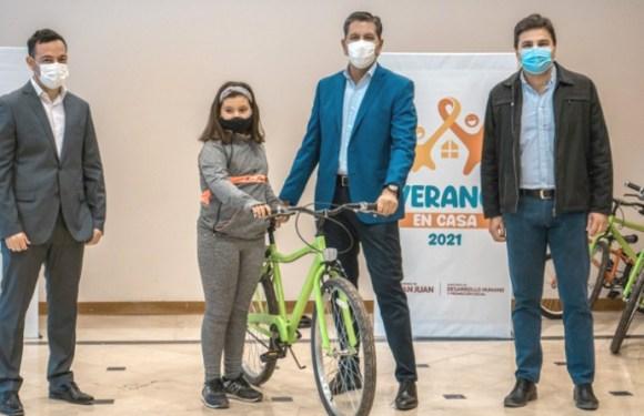 """Desarrollo Humano entregó los últimos premios sorteados de """"Verano en Casa"""""""