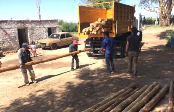 Desarrollo Humano asistió a los pueblos originarios afectados por el terremoto