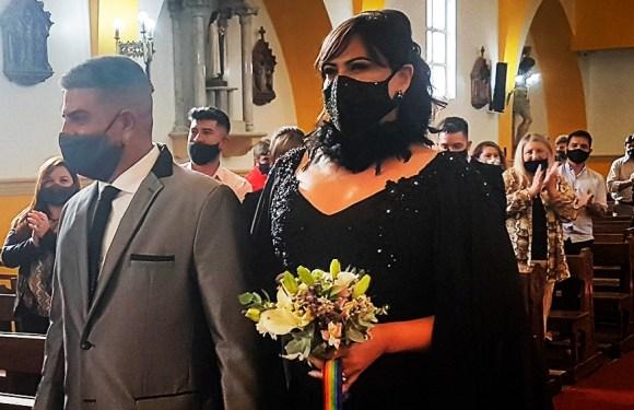 La mujer trans que se casó por Iglesia dijo que su condición «no implica dejar de ser hija de Dios»