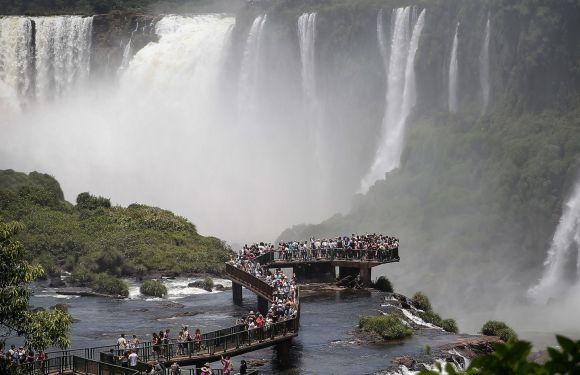 Las Cataratas del Iguazú, en el podio de las Maravillas incuestionables del mundo