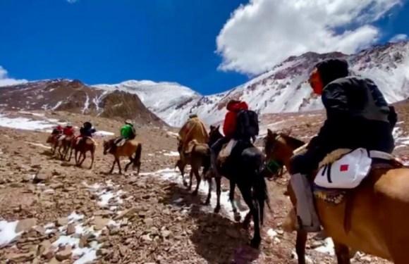 Los expedicionarios del XVI Cruce de Los Andes continúan su aventura