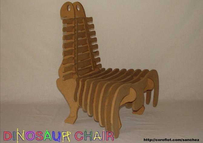 Dinosaur Chair  Jaime Sanchez