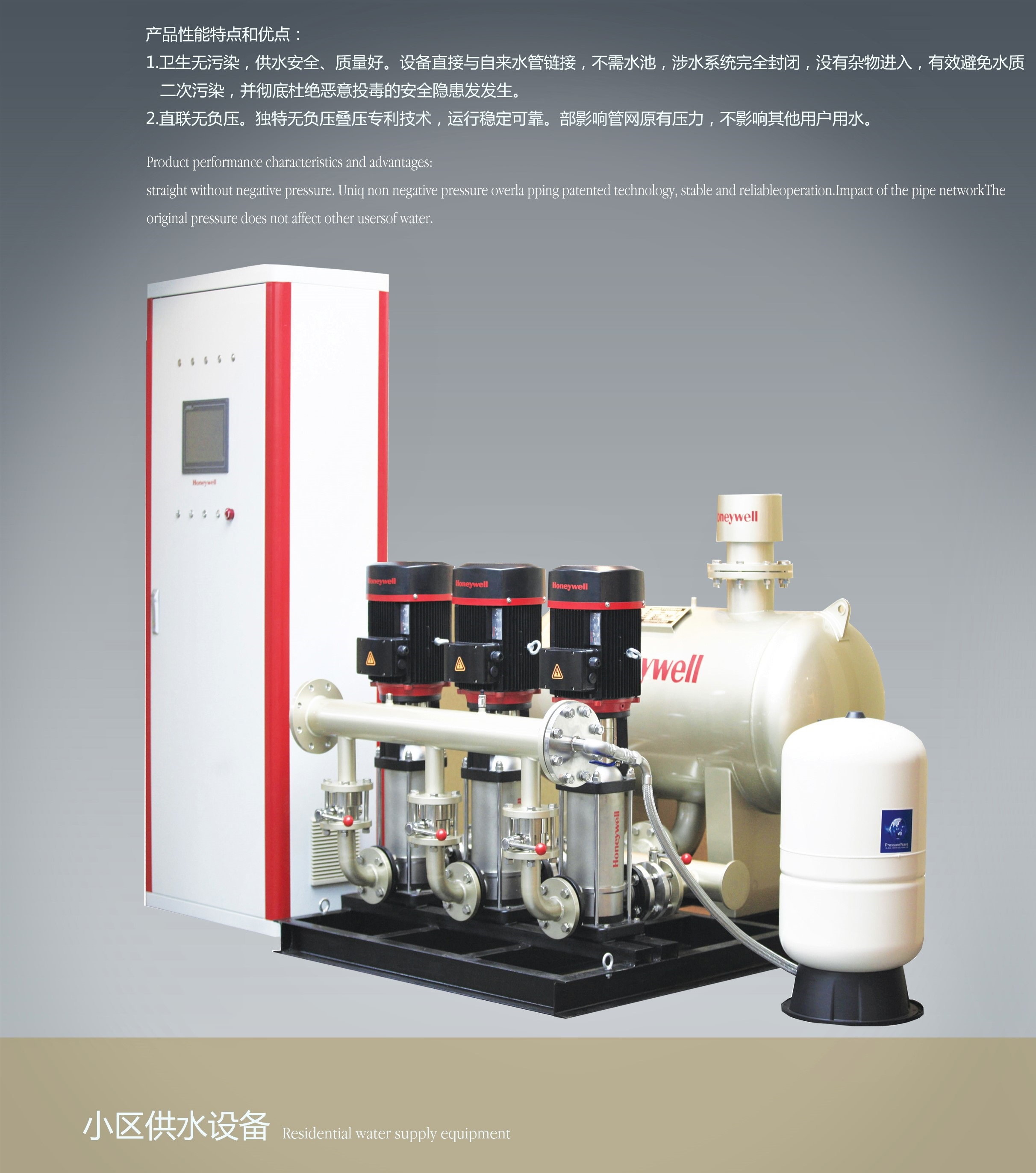 Residential Water Supply Equipment