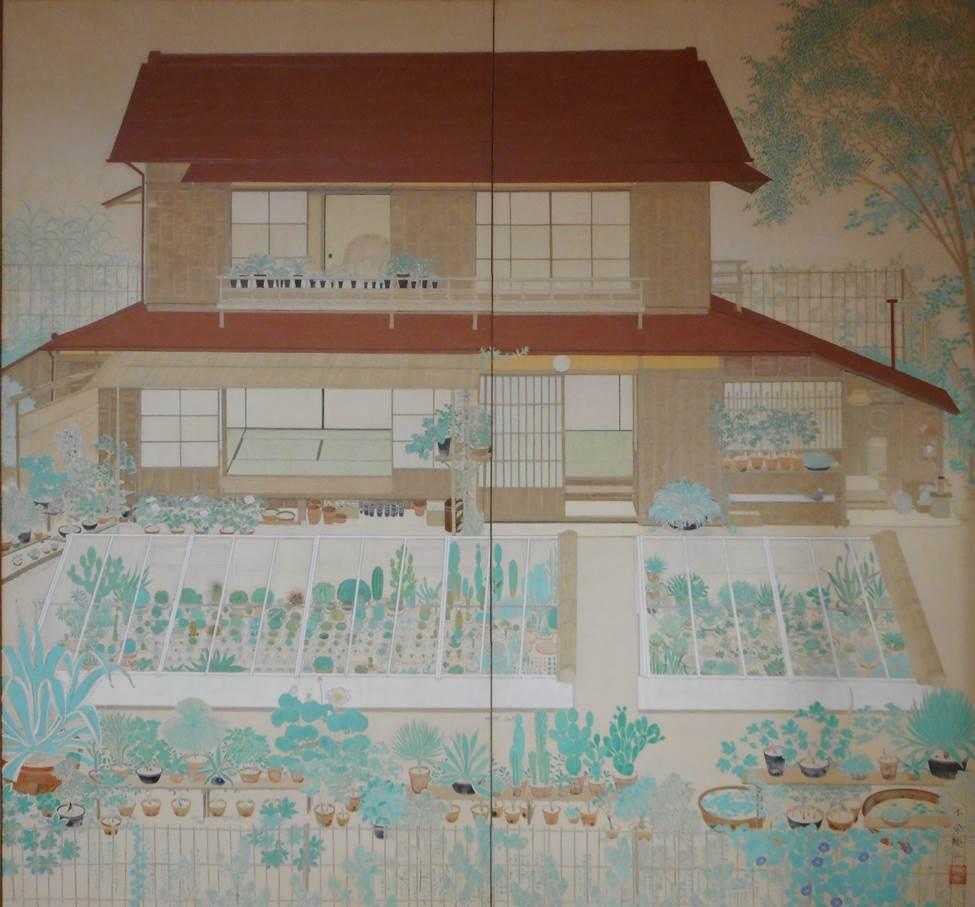 昭和8(1933)年 第14回帝展出品作 個人蔵