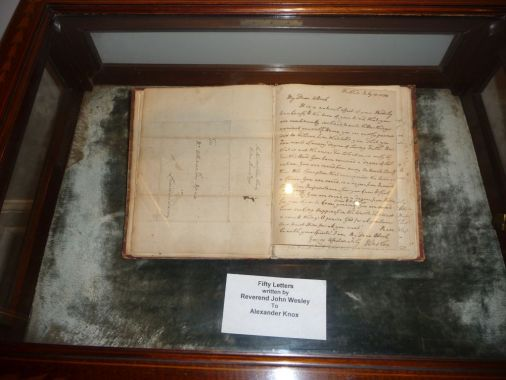 The Upper Room Museum Exhibit of John Wesley's Letters