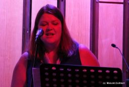 New Song Warrington band: Clare in rehearsal