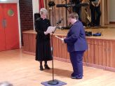 The Rev'd Dr Sheryl Anderson Formally Welcoming Deacon Julie Hudson