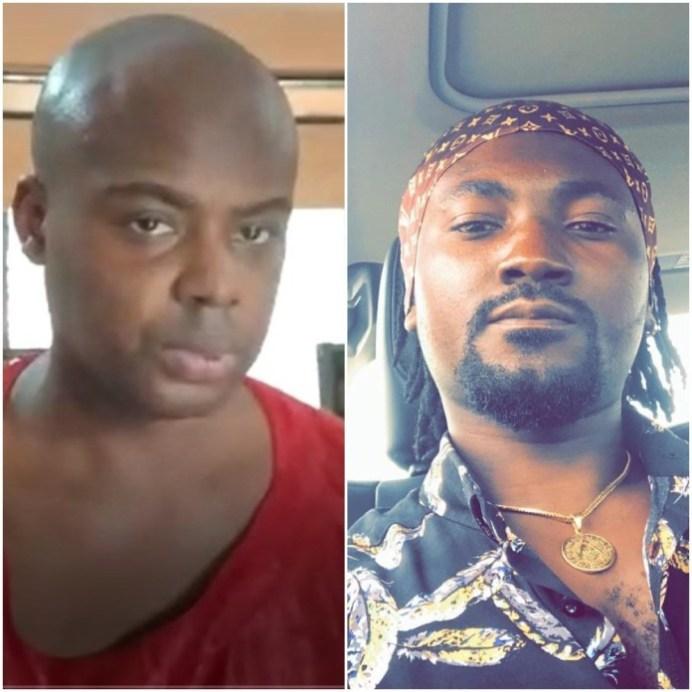 Victor Stephen Nana Kankam (suspect) and Spark Benjamine (victim)