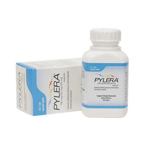Пилера (Pylera) 140мг/125мг/125мг №120 (120 капс/уп) в ...