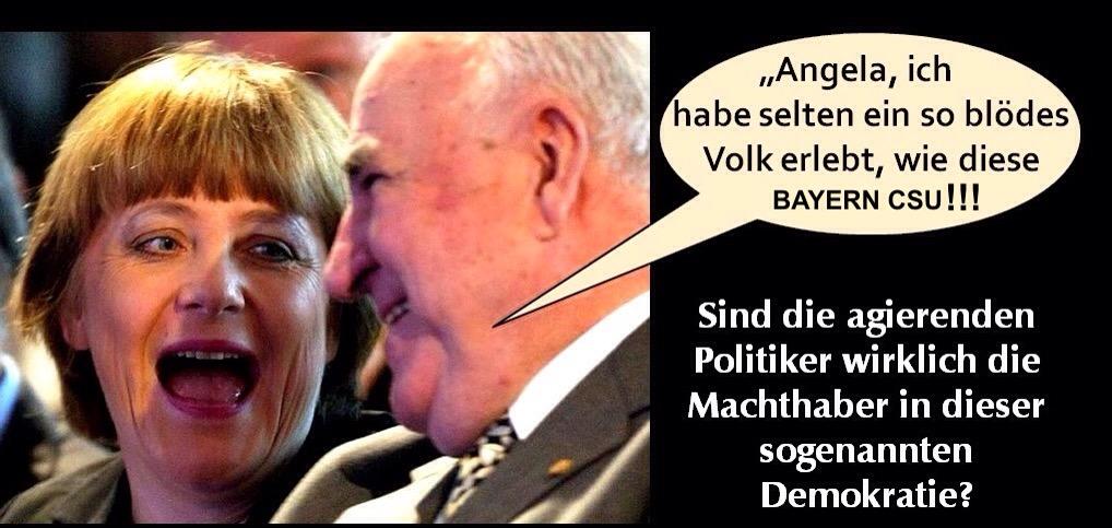 Volksverhetzer CSU Chronisch selbstherrliche Undemokraten bezeichnet von Hartz4 betroffene