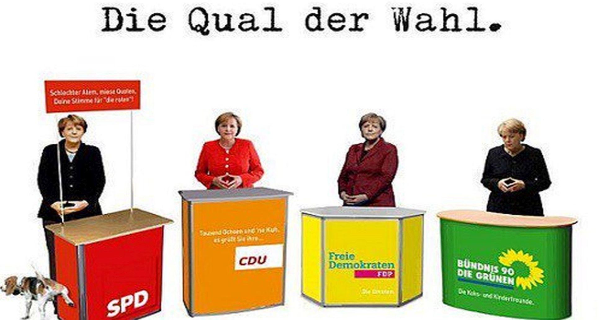 Lieber deutscher Schlafmichel, wählst Du dieses Mal wieder mal mit IM Erika, genannt Das Merkel deinen endgültigen Untergang oder denkst Du über eine Alternative nach…2017 ist dein Schicksalsjahr!!!