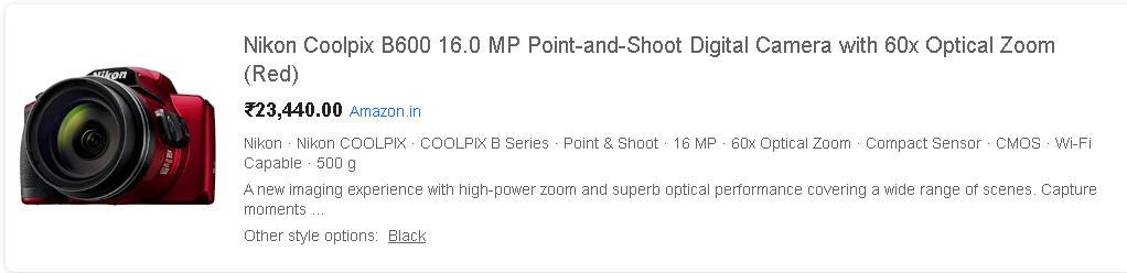 nikon coolpix price on amazon