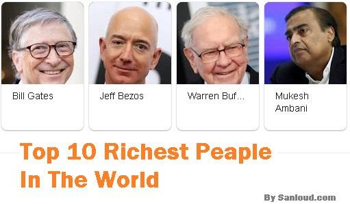 top 10 richest man of world