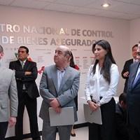 Inauguró Aurelio Gancedo el Centro Nacional de Bienes Asegurados de la PGR