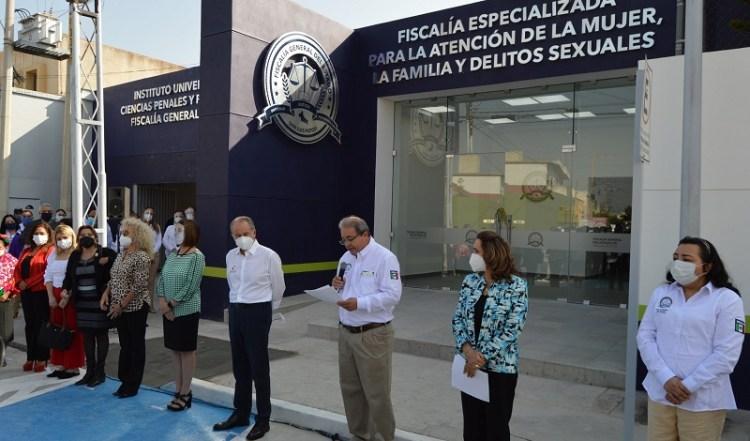 Inauguraron instalaciones de la Fiscalía de la Mujer y el Instituto Universitario de la FGE