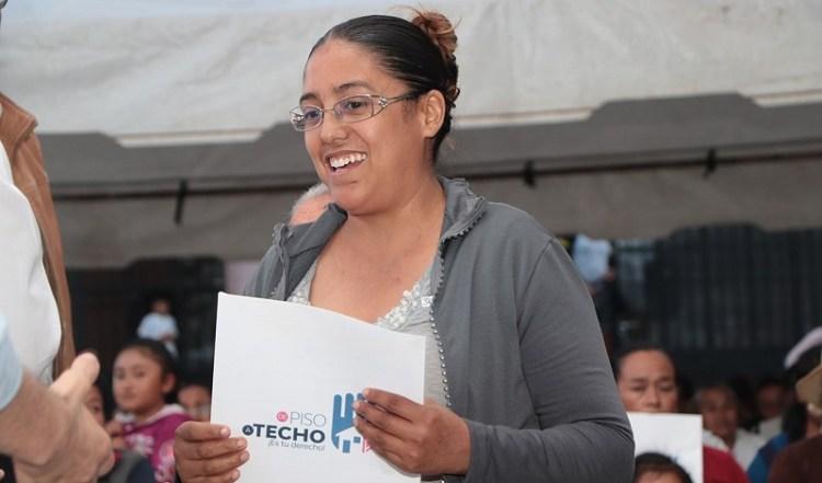 Se reanuda fortalecido, programa municipal de mejora de vivienda