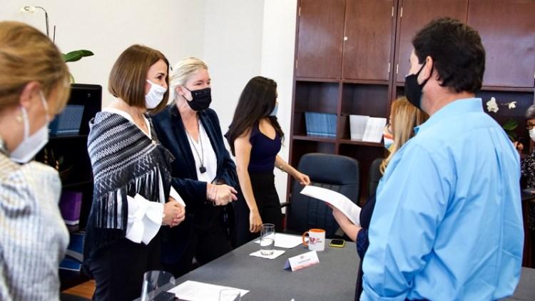 Esposa del Embajador de Estados Unidos, visitó PPNNA