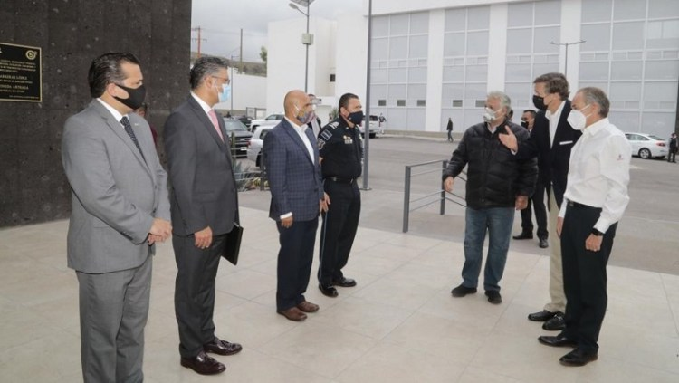 JM Carreras, el Embajador Christopher Landau y el Secretario de Turismo Miguel Torruco, realizaron gira de trabajo