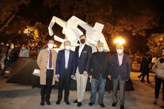 Inauguran Gobernador Carreras, Embajador Landau y Secretario de Turismo, el Paseo Carranza