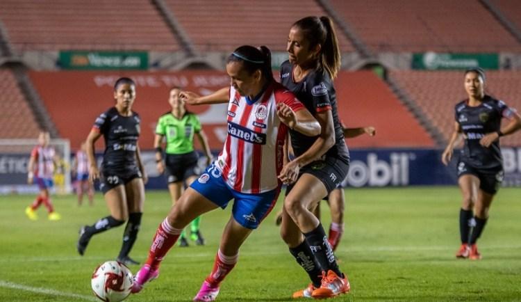 Bravas de Juárez, se impusieron 3-2 al Atleti de San Luis Femenil