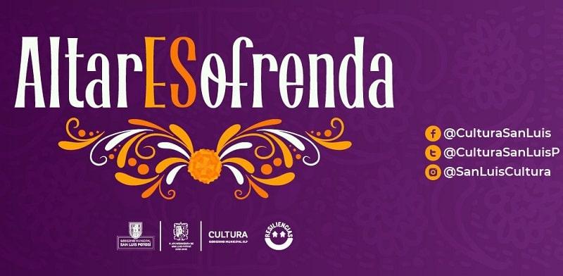 Cultura Municipal, promueve el Día de Muertos con #AltarEsOfrenda