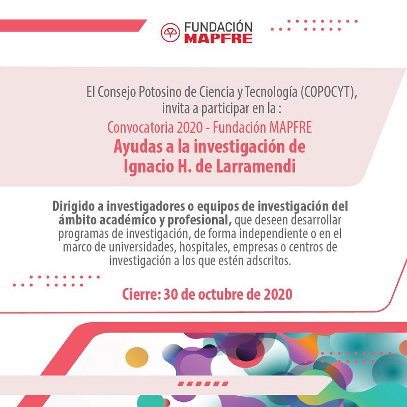 Promueve COPOCYT apoyos para la promoción de la salud de la fundación Mapfre