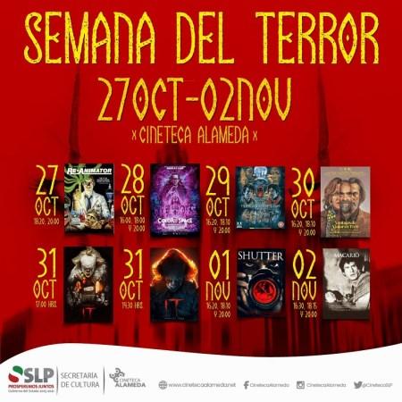 Semana de terror en la Cineteca Alameda