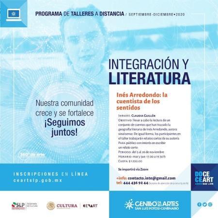 Invita Centro de las Artes a taller virtual de relato corto