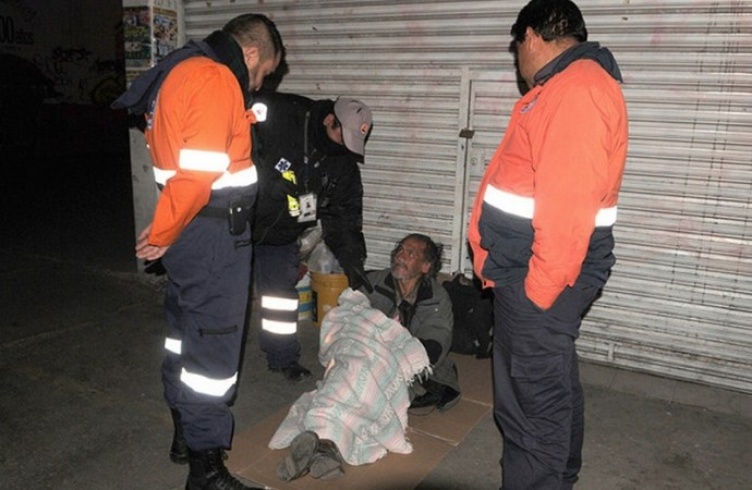 DIF y Protección Civil, alistan operativos por frío en la capital