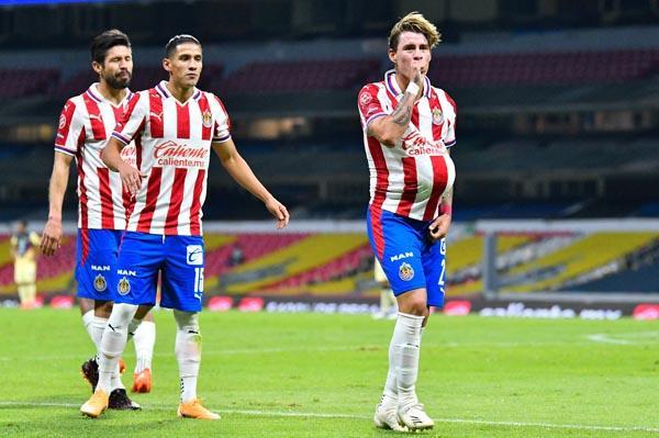 """A """"chicotazos"""", Chivas avanzó a las semifinales"""