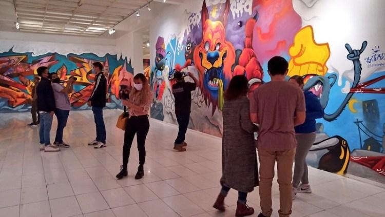 El MAC invita a la exposición Street Art San Luis Potosí