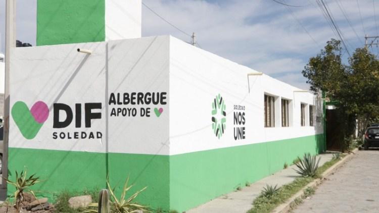 DIF de Soledad, ha brindado apoyo en albergue a más de 50 personas