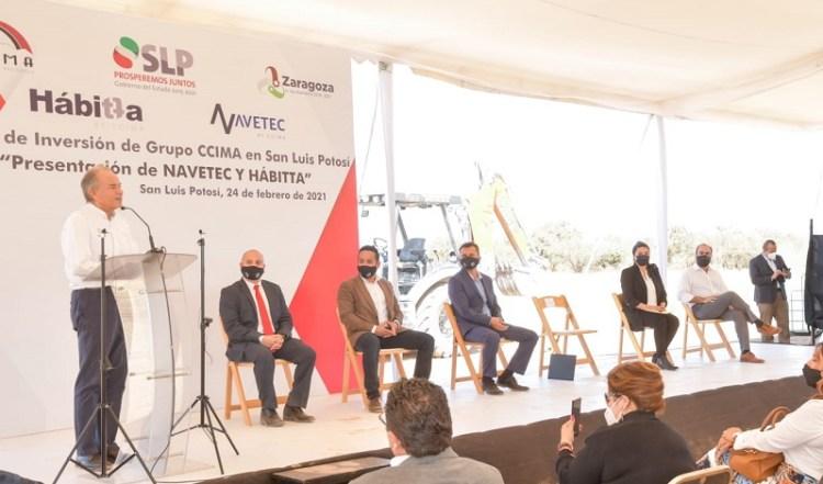 Grupo CIMMA anuncia inversión de 5 mil mdp en San Luis Potosí