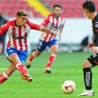Atleti de San Luis cayó 3-1 en su visita al Atlas