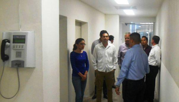 Visitan Diputados el Centro Estatal de Reinserción Social en Ciudad Valles