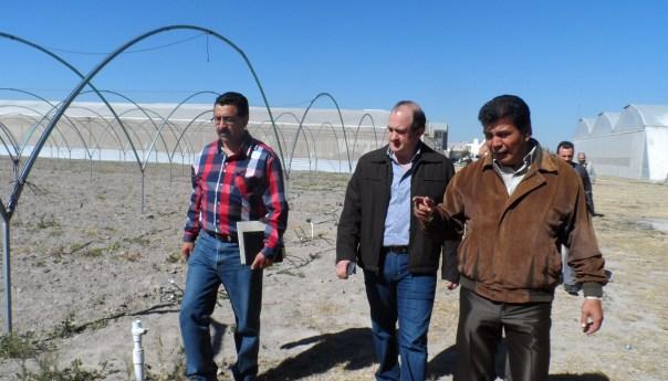 Apoyará Gobierno del Estado en la Construcción de dos Invernaderos para la Facultad de Agronomía