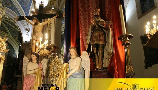 Se desarrollaron una serie de actividades para conmemorar el aniversario del patrono de la Ciudad capital