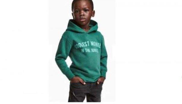 Desafortunada publicidad ocasiona que la firma de moda H&M sea acusada de racismo
