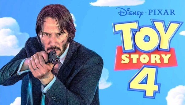 Keanu Reeves en Toy Story 4