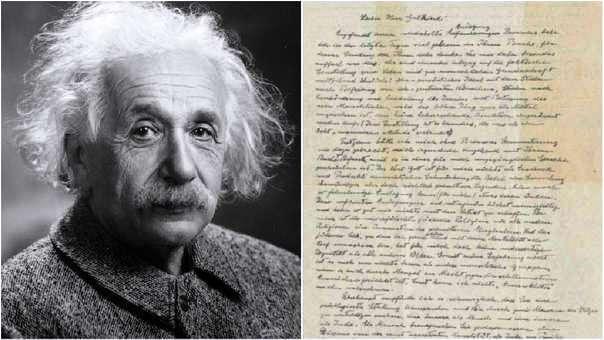 Carta de Albert Einstein es subastada en 2,8 millones de dólares