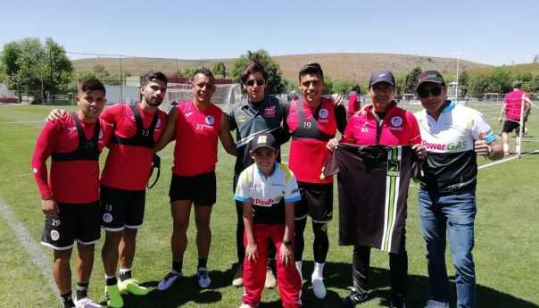 Pilotos del Anvimotorsport conviven con jugadores y Cuerpo Técnico del Campeón del Ascenso MX, el Atlético de San Luis