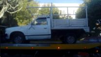 Tres vehículos fueron asegurados por FME