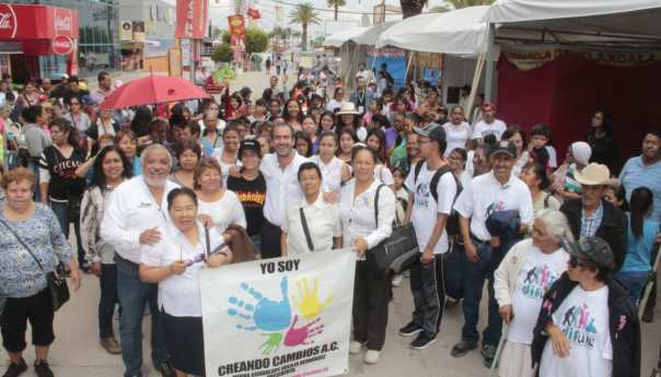 Grupos Vulnerables siguen disfrutando de los atractivos de la Feria Nacional Potosina