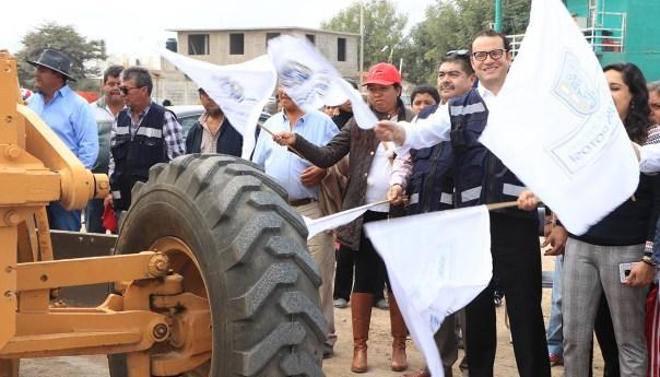 Arranca gobierno municipal obra de rehabilitación en colonia los magueyes