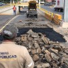 Obras públicas recupera el camino en zona poniente de la ciudad