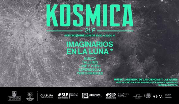"""Cultura municipal invita al evento """"kósmica, imaginario en la luna"""""""